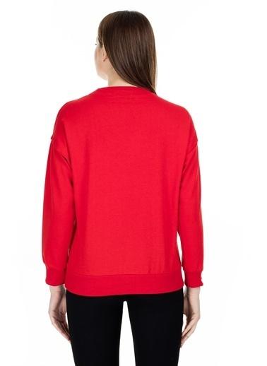 Lela Sweatshirt Kırmızı